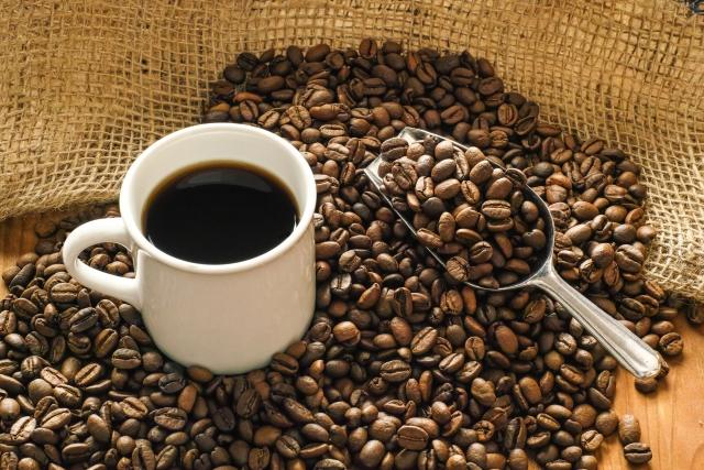味良く香り高いコーヒー