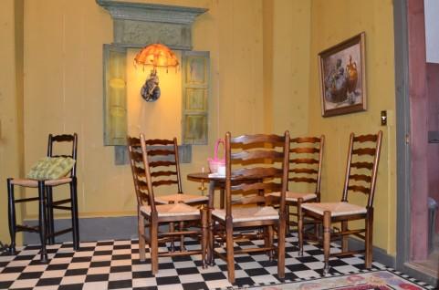 コーヒー空間の室内